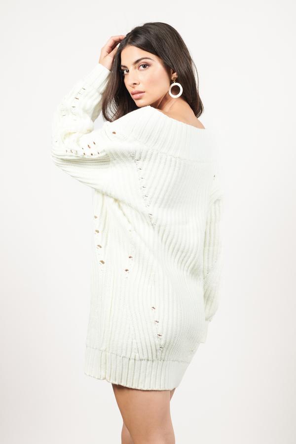 Black Sweater Dress V Neck Sweater Dress Black Chunky Knit Dress