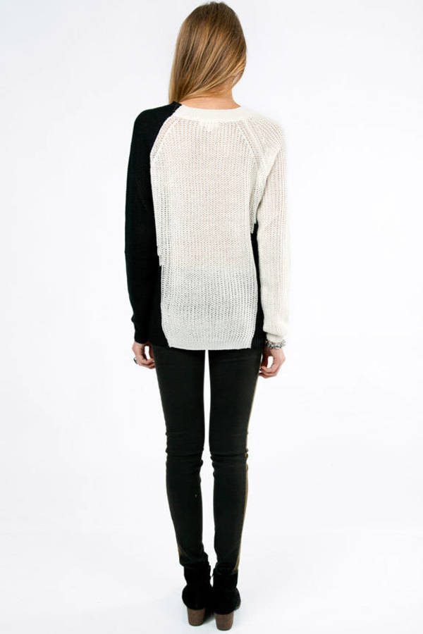 Upper Cut And Block Sweater