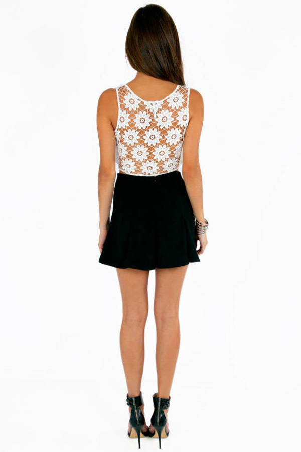 Back Petals Crop Top