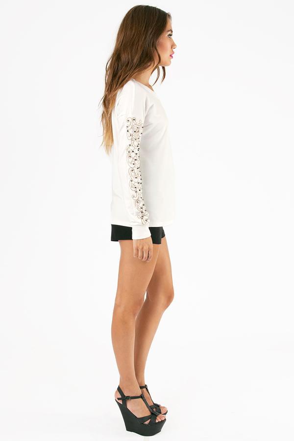 Beaded Beauty Sweater