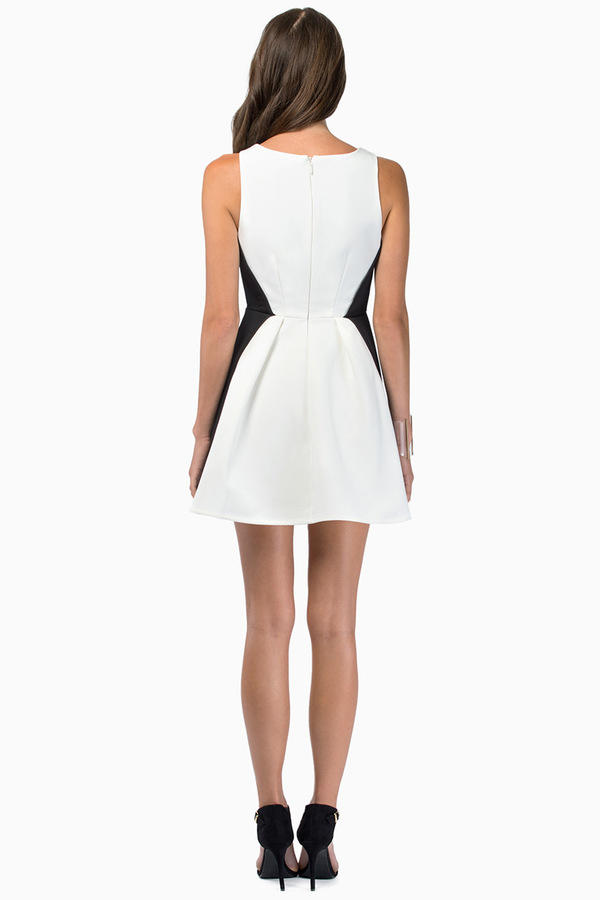 Keepsake Modern Art Mini Dress