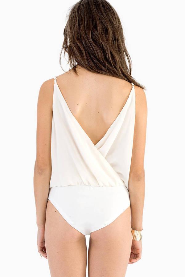 Buena Wrap Bodysuit