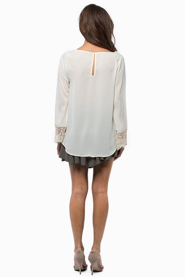 Elysia Long Sleeve Blouse