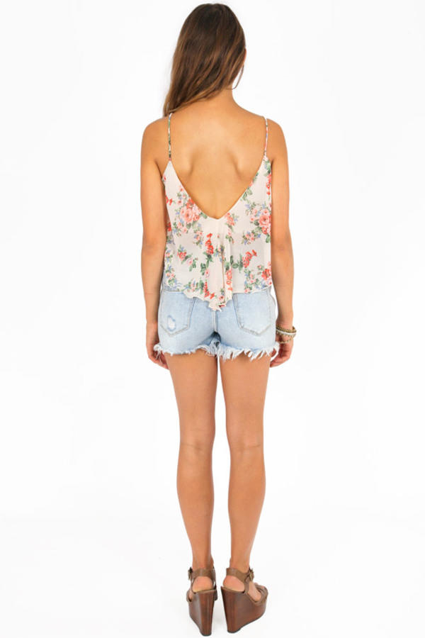 Go With the Floral Top