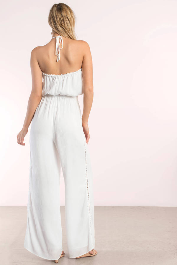 bd289034d8 ... The Jetset Diaries The Jetset Diaries Golden Island Ivory Jumpsuit