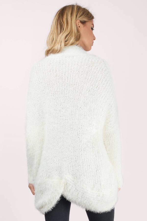 Ivory Cardigan Sweater