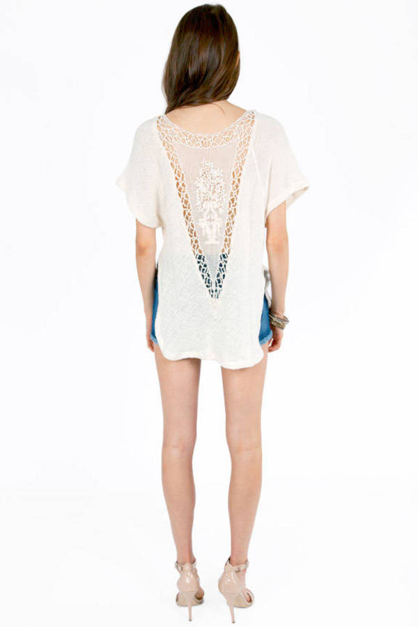 Lacie Knit Out Top