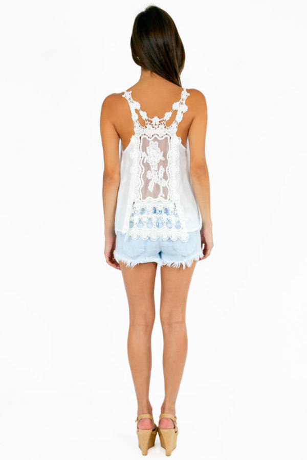 Right Lace Right Time Tank Top
