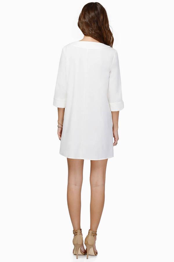 Talk Shop Shift Dress