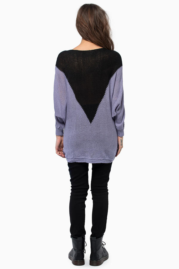 Reverse High Rise Sweater