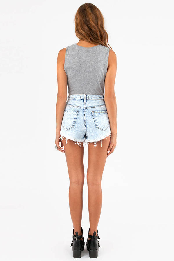 Vega High Waisted Shorts