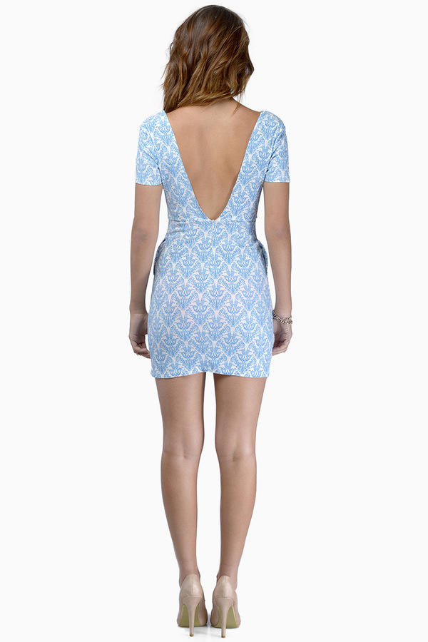 Chandelier View Dress