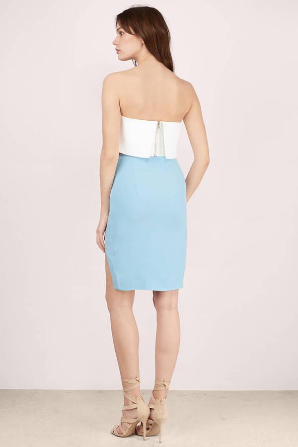 cheap light blue blue skirt pastel midi skirt light