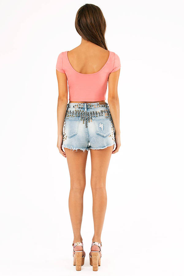 Blank Urban Cave Girl Shorts