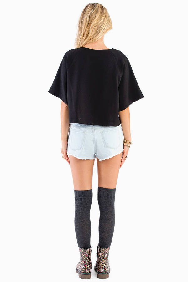 Scarlett Scuffed Denim Shorts