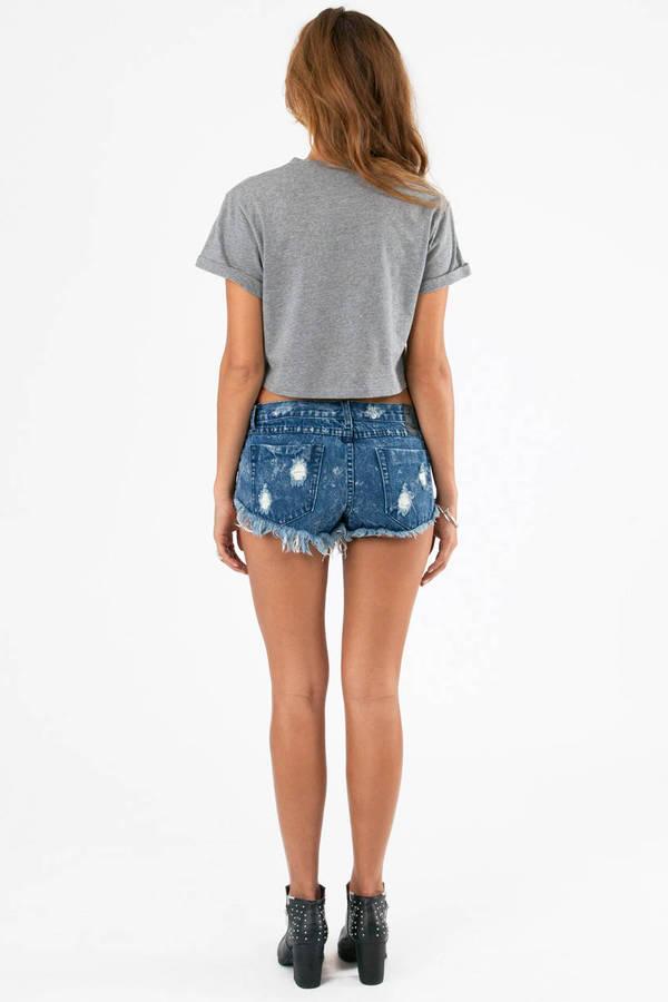 One Teaspoon Trashwhores Cutoff Shorts