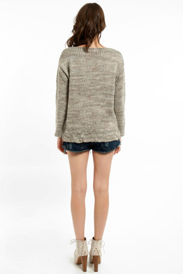 Cornered Pocket Sweater