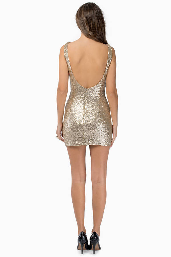 Got Your Back Bodycon Dress