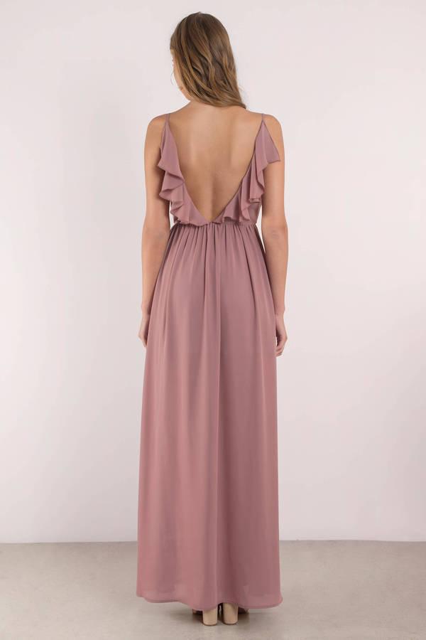 Dusty Lavender Dress