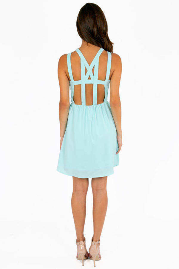 All The Ladies Cutout Dress