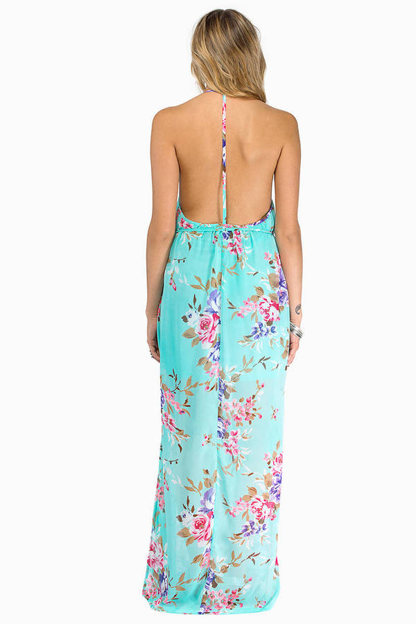 Floral Crush Maxi Dress
