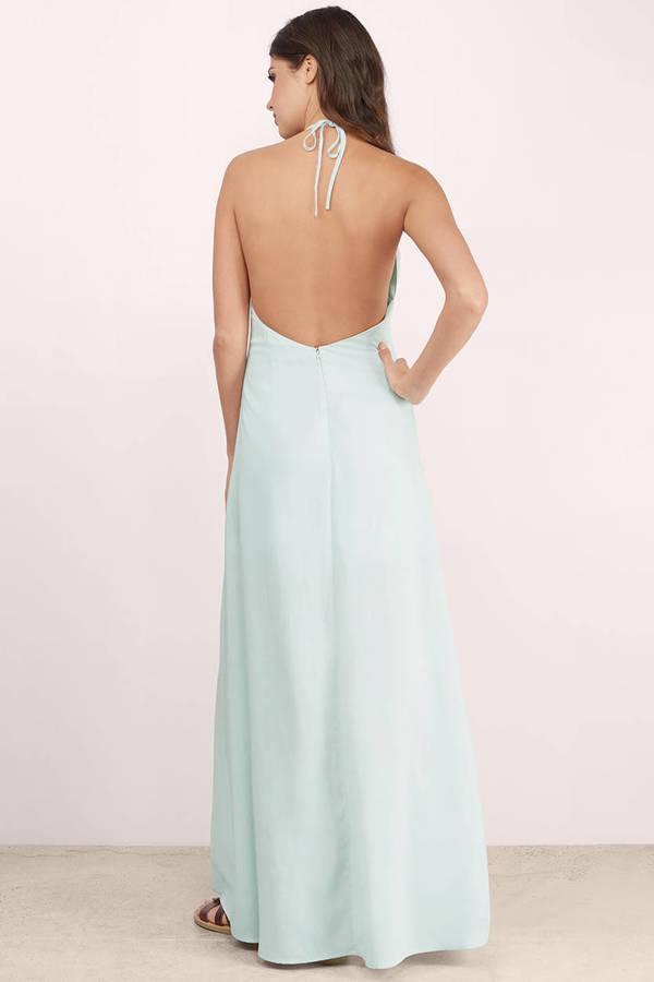 Tobi mint maxi dress