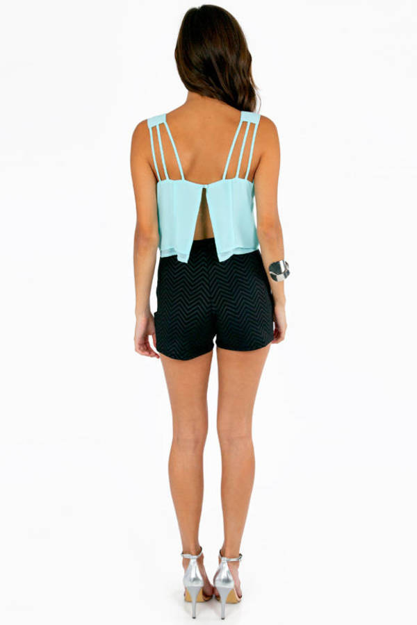 Strings for Straps Crop Top