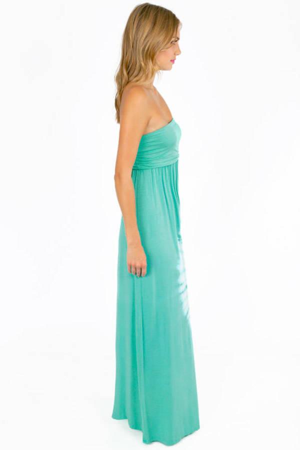 Tera Strapless Maxi Dress