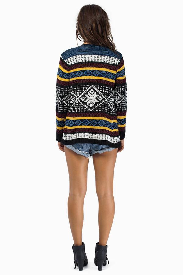 Cardigan Knit Sweater