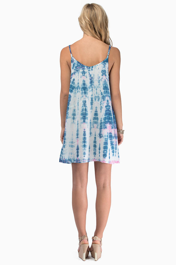somedays lovin Kwando Tie Dye Swing Dress