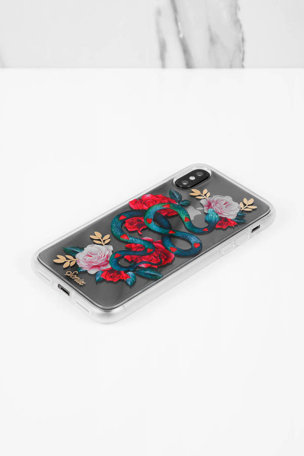 competitive price 41346 270d1 Snake Heart Iphone X Case
