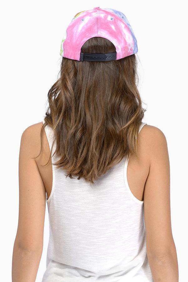 DOPE Tie-Dye Snapback Cap
