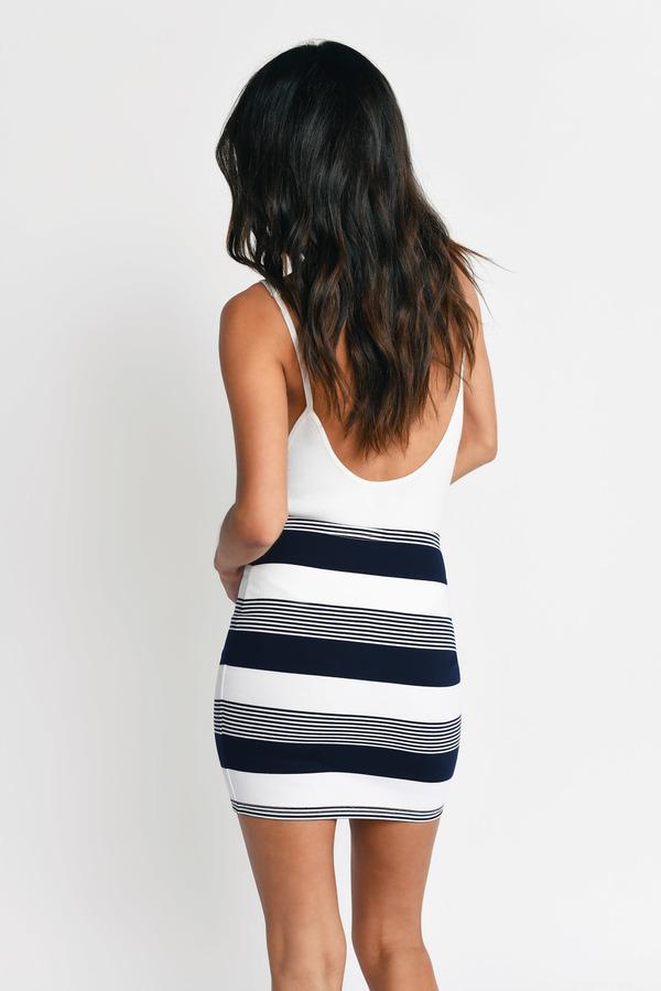 Cute Navy Skirt - High Waisted Skirt - Blue Skirt - $19.00