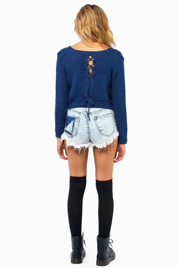 Keep It Laced Sweater