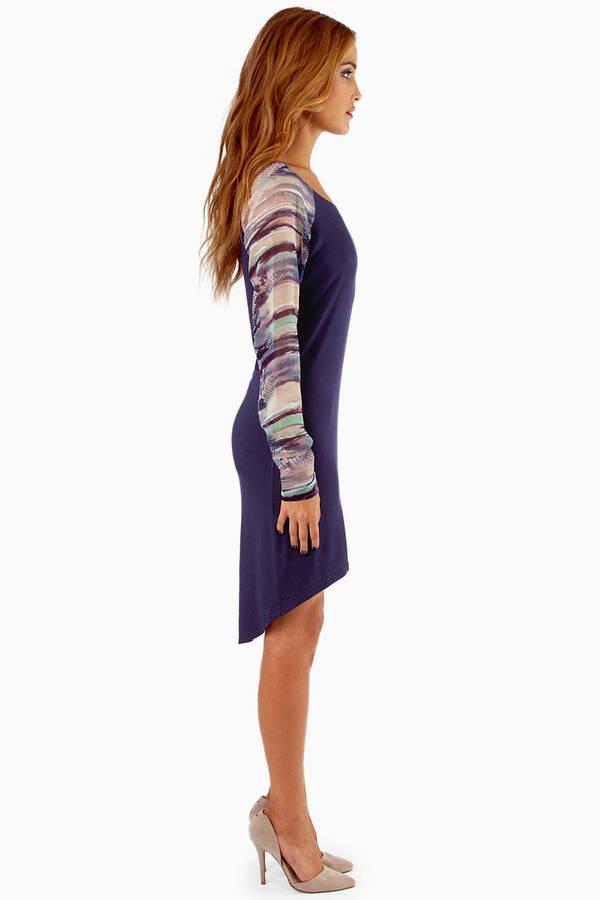 Lauren Chiffon Sleeve Dress