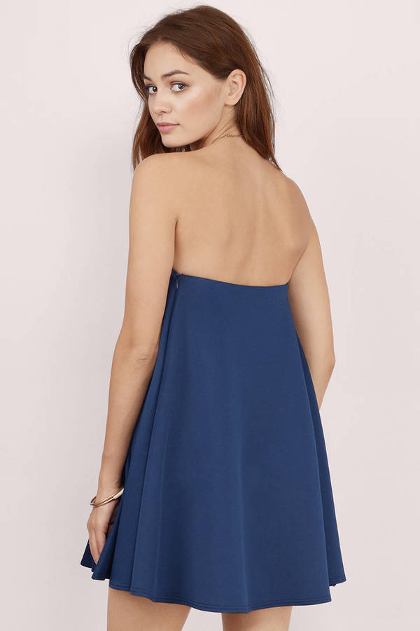 Strapless Shift Dresses
