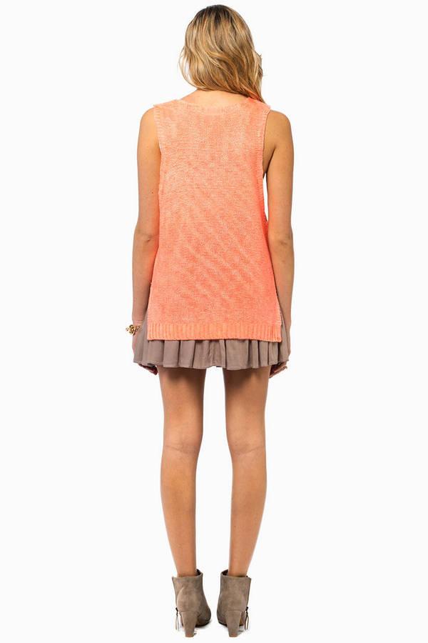 Focello Sleeveless Sweater