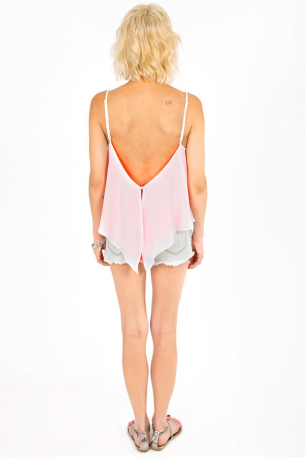 Double Call Cutout Cami