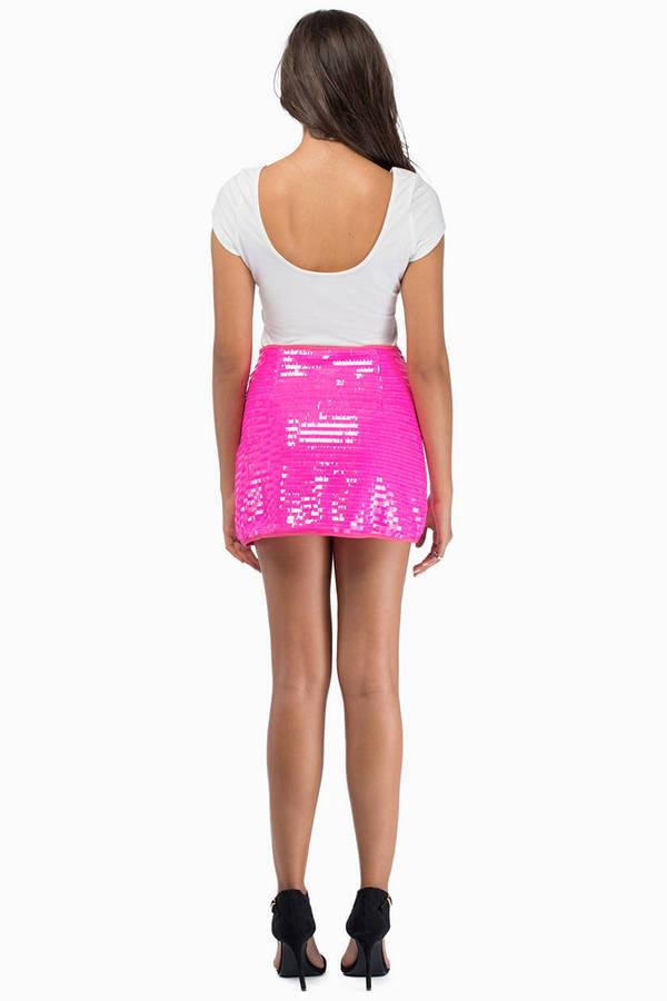 Friday Night Lights Mini Skirt