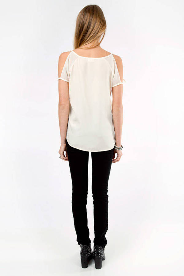 Fleeting V-Neck Blouse