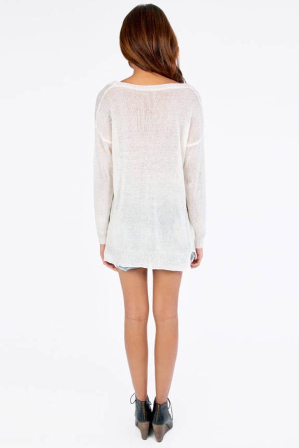 Sidney Basic Knit Sweater