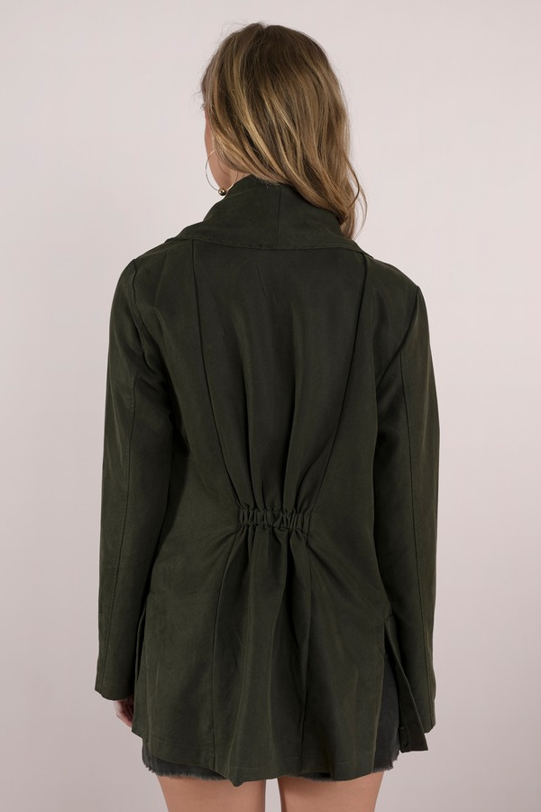 product all tobi outerwear drapes jacket open cute around olive town front draped