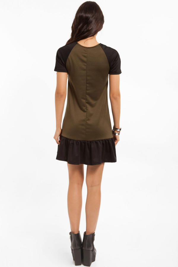 Julie Contrast Dress