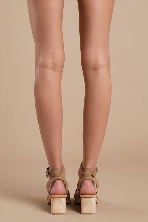 f9e7d99d9439 Olive Green Dolce Vita Heels - Summer Heels - Olive Green Criss ...