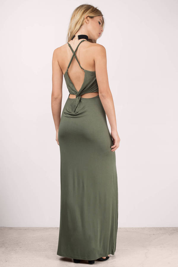Olive Formal Dress