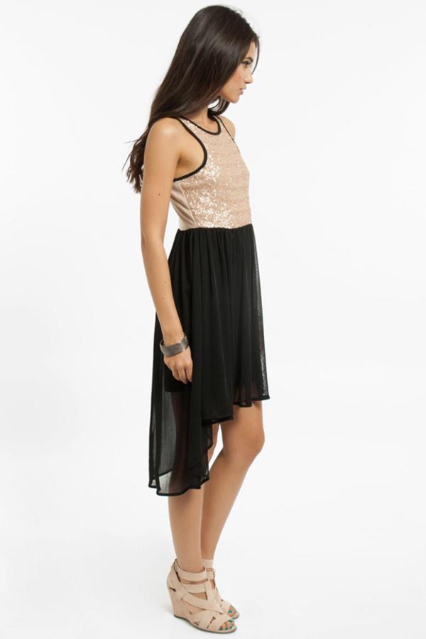 Anna Sequin Dress