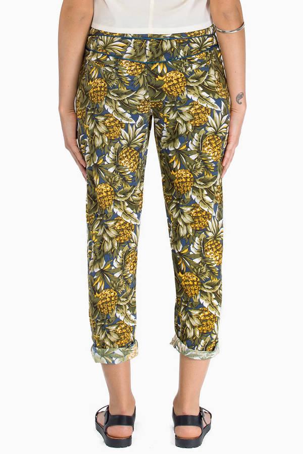 Tallow Pineapples Chino Pants