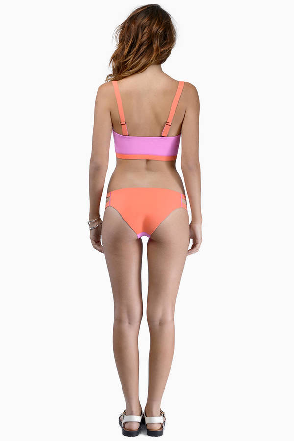 Dream Monstar Neon Color Block Swim Set
