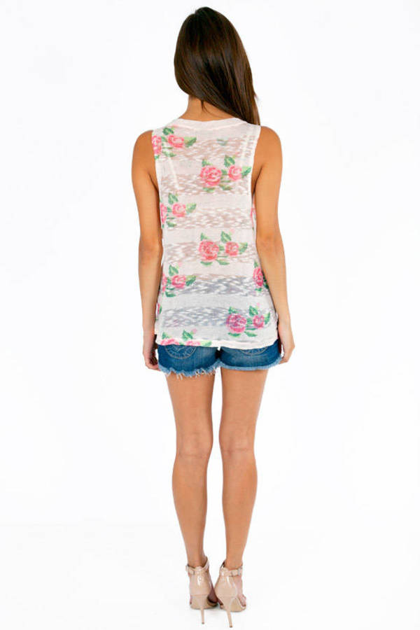 Rose to the Occasion Tank Top