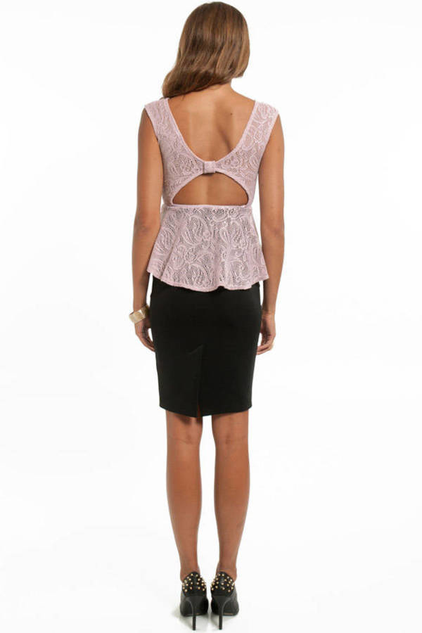 Lacey Flare Tank Top